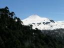 Villarrica desde la subida de Chinay