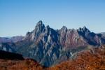 Cerro Las Peinetas, cara Oeste