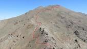 Detalle del sendero al Morro Tambor