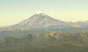 Vista del Lanín desde Chile