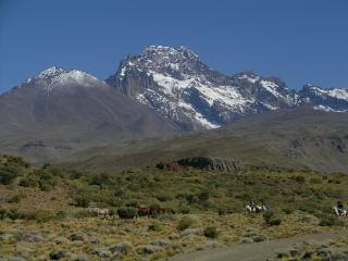Monte Sosneado, sureste