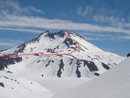 Ruta Normal Volcán Planchón