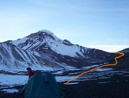 campamento base avanzado