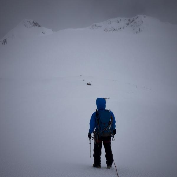Cumbre desde el plateau