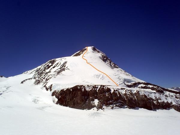 Volcán Palomo.