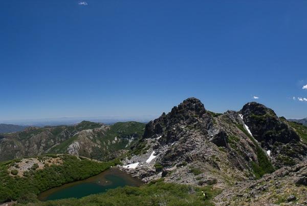 Laguna Huemul desde Cerro Las Cabras