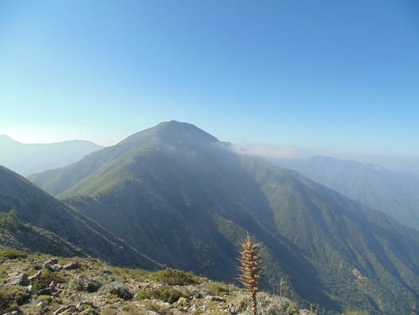 Cara Sur del Alto del Gusano