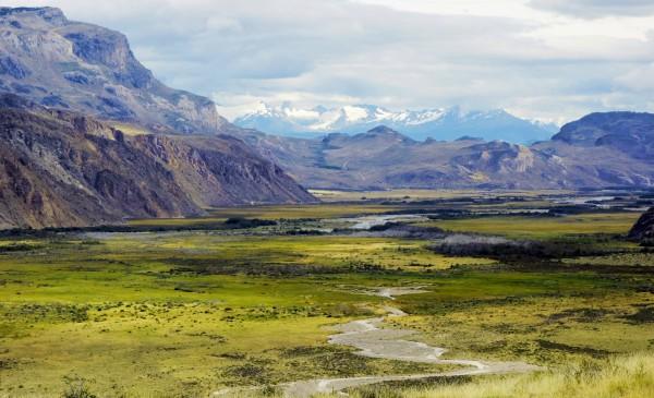 Valle Chacabuco hacia el oeste