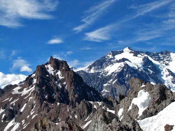 Parque Andino desde cumbre del Arriero Chico