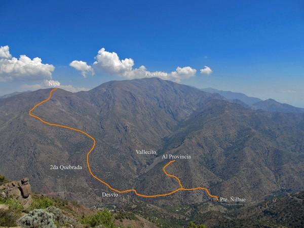 Panorámica de ruta