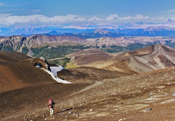 Vista de la Pampa desde el Filo