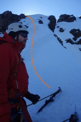 Segundo gateo en nieve