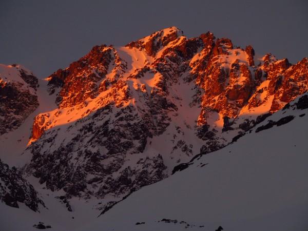 Pico Negro al atardecer