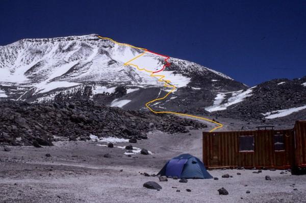 Refugio Tejos y ruta cumbrera