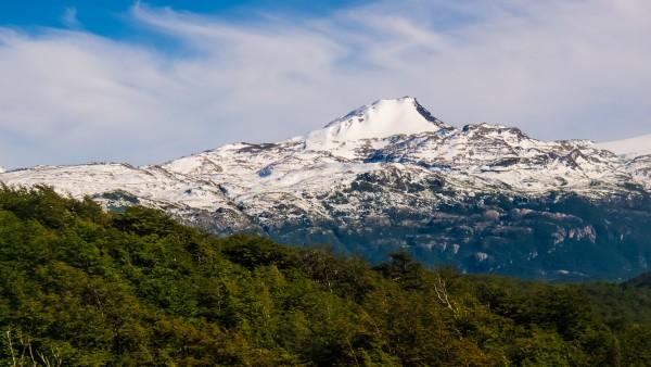 Cerro Zapata desde valle Pingo.