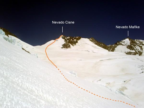 Nevado Cisne.