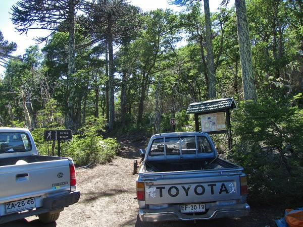 Estacionamiento Playa Linda
