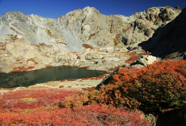Laguna El Alto desde la bajada