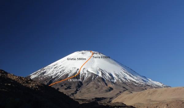 Ruta ladera oeste