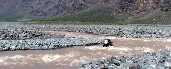 Cruce del río Olivares