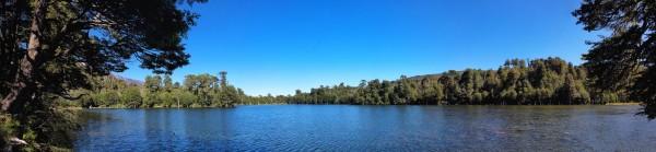 Panorámica Laguna Captrén