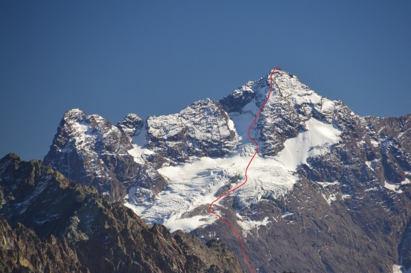 Cerro Morado, Cara y Arista Sureste