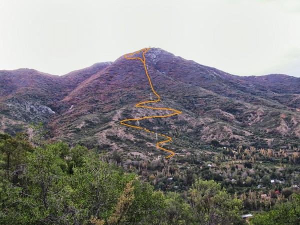 Trazado de la ruta