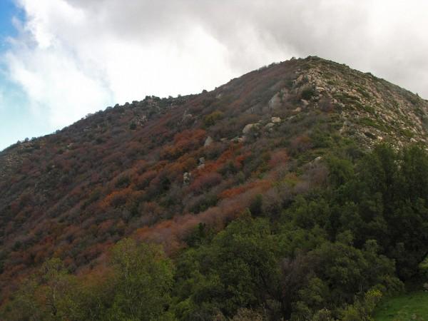 Vista desde la mina hacia el Oeste