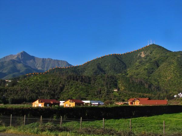 Ruta cerro Los Cóndores
