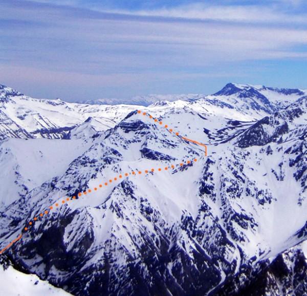 Cerro Los Lunes.