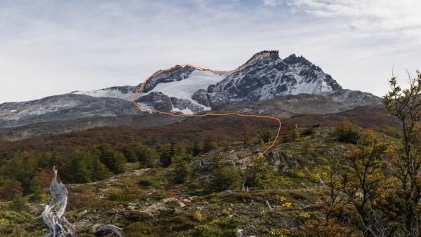 Ruta al cerro Donoso