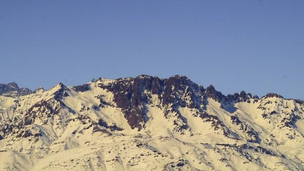 Piuquencillo desde cerro Purgatorio