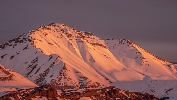 Cerro Peladeros desde el norte