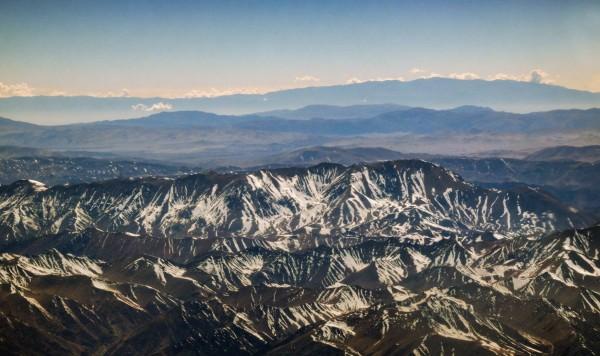 Cerro El Toro desde el avión