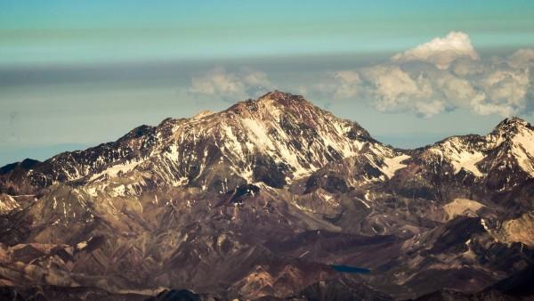 Cara Oeste cerro Mercedario