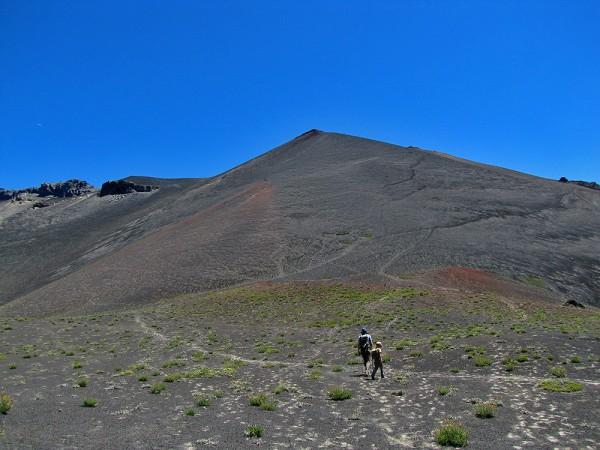 Base del cono volcánico