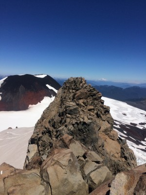 Cumbre sur desde cumbre norte