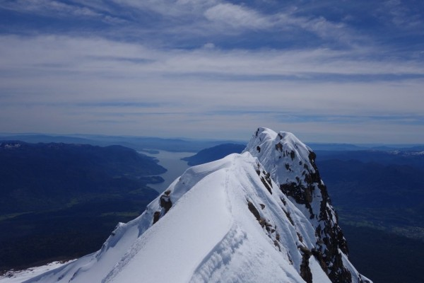 Cumbre norte desde cumbre sur