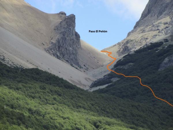 Paso El Peñón - detalle
