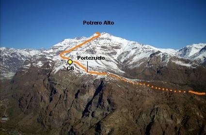 Gran parte de la ruta