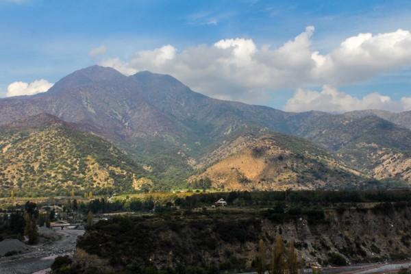 Purgatorio desde camino El Volcán