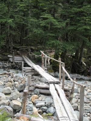 Puente antes de campamento El Bosque