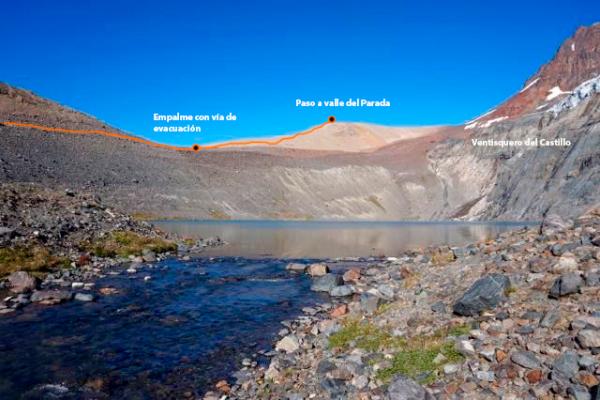Laguna del ventisquero del Castillo