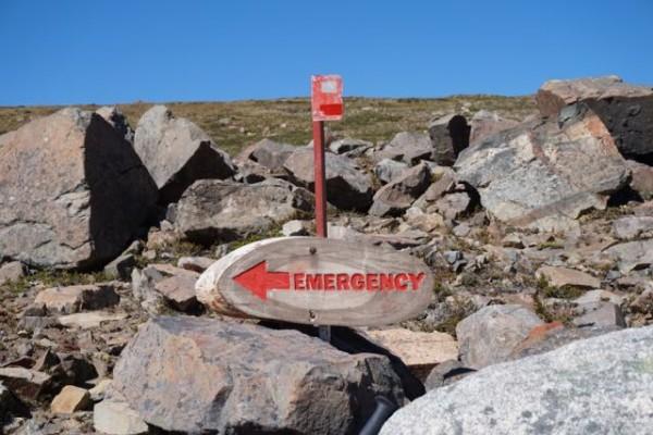 Vía de evacuación