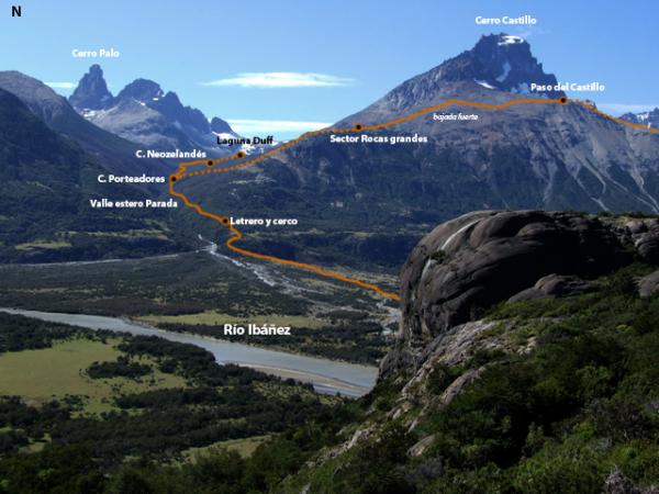 Detalle de la ruta