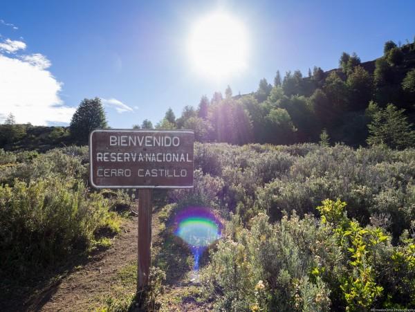 Cartel RN Cerro Castillo