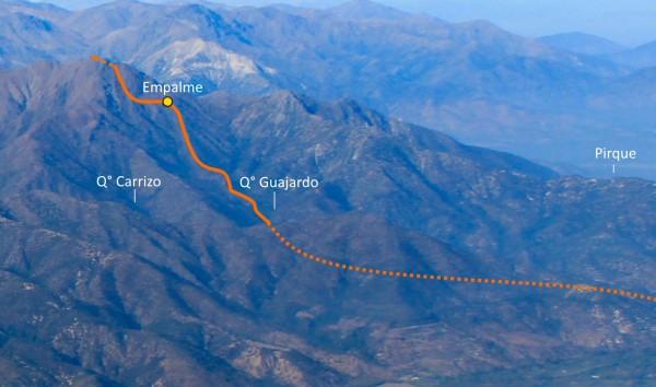 Panorama ruta
