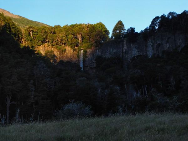 El Saltillo visto desde el camping