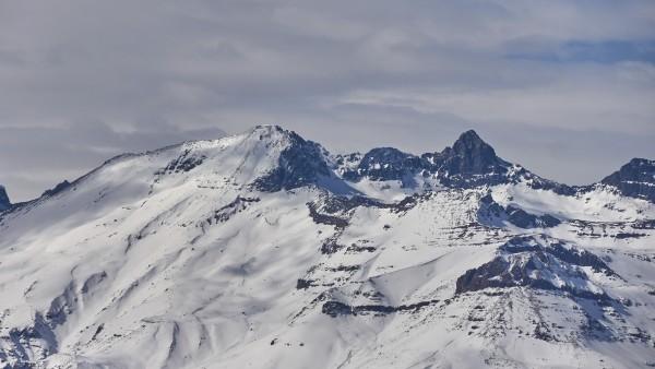 Cordón del Quempo desde el cerro Provincia