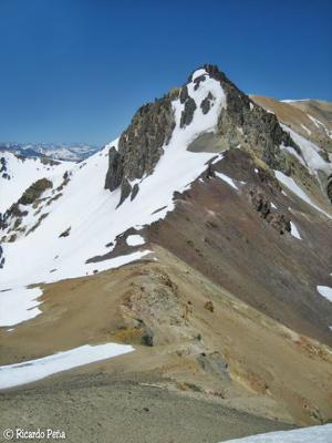 Flanco norte del cerro Seler